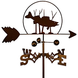 Handmade Walleye Fish Weathervane