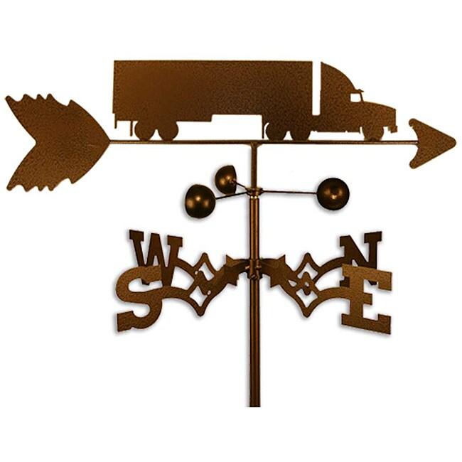 Handmade Semi Truck Weathervane