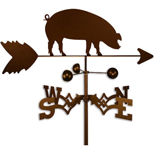Handmade Hog Piggy Weathervane