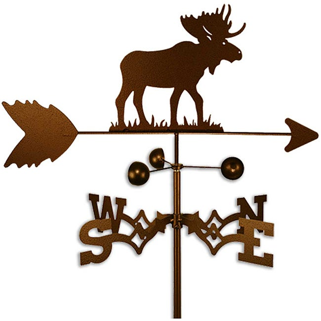 Handmade Wildlife Moose Weathervane