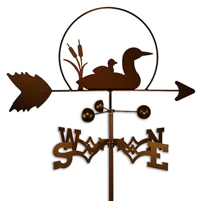 Handmade Loon Bird Weathervane