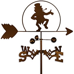 Handmade Irish Leprechaun Weathervane