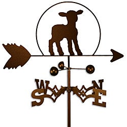 Handmade Lamb Sheep Weathervane