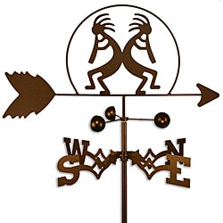 Handmade Kokopelli Southwest Weathervane