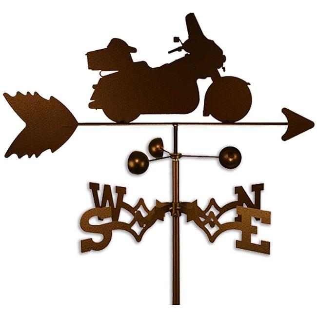 Handmade Harley Motorcycle Weathervane