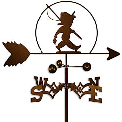 Little Boy Fishing Handmade Weathervane