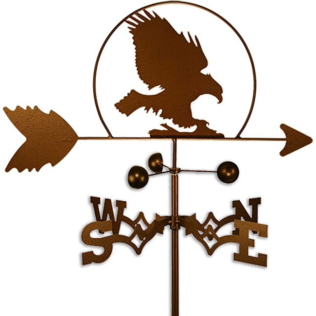 Handmade Bald Eagle Bird Weathervane