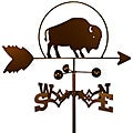 Handmade Buffalo Bison Weathervane