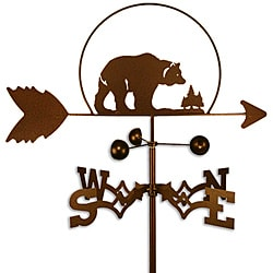 Handmade Bear Weathervane