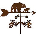 Handmade Bear and Cub Weathervane