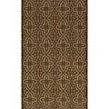 Moresque Sage Wool Rug (9'6 x 13')