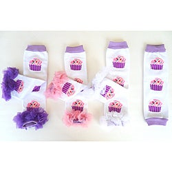 'Boutique Cupcake' Ruffle Leg Warmers