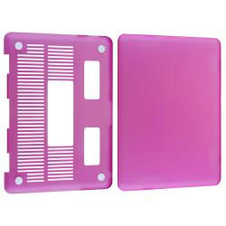 Purple Snap-on Rubber Coated Case for Apple MacBook Pro 13-inch