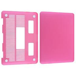 Pink Blue Snap-on Rubber Coated Case for Apple MacBook Pro 13-inch