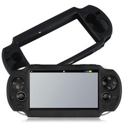 Black Silicone Skin Case for Sony PlayStation Vita