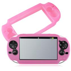 Light Pink Silicone Skin Case for Sony PlayStation Vita