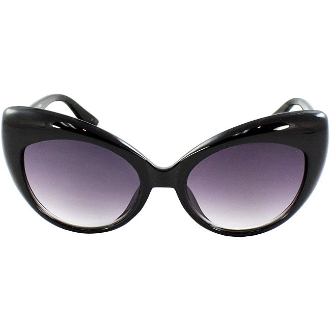 Women's Black Cat Eye Sunglasses