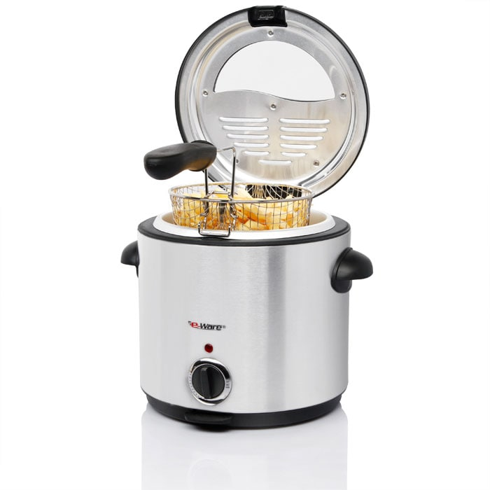 Eware E-Ware Stainless Steel Electric 6-cup Deep Fryer at Sears.com