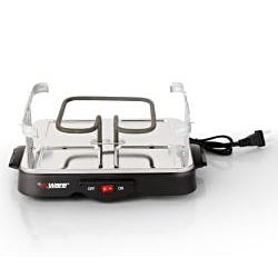 E-Ware Electric Non-Stick 4-pan Mini Grill Plate