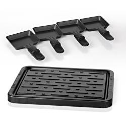 E-Ware Electric Non-Stick 4-pan Mini Grill Plate
