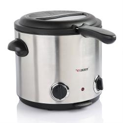 E-Ware Stainless Steel 6-Cup Home Deep Fryer