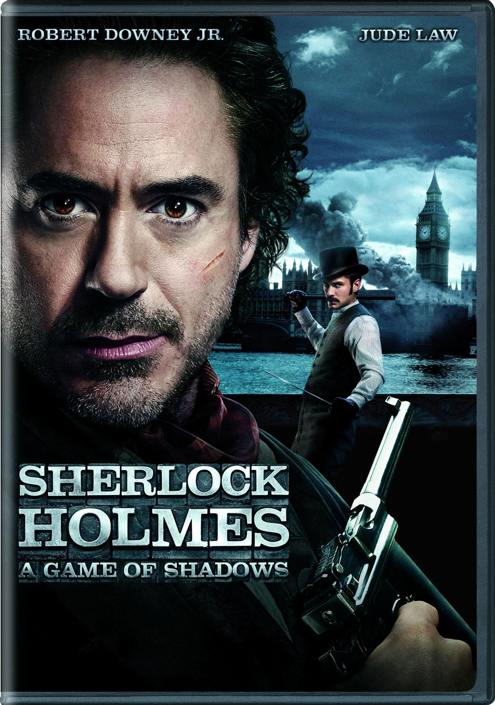 Sherlock Holmes: A Game Of Shadows (DVD)