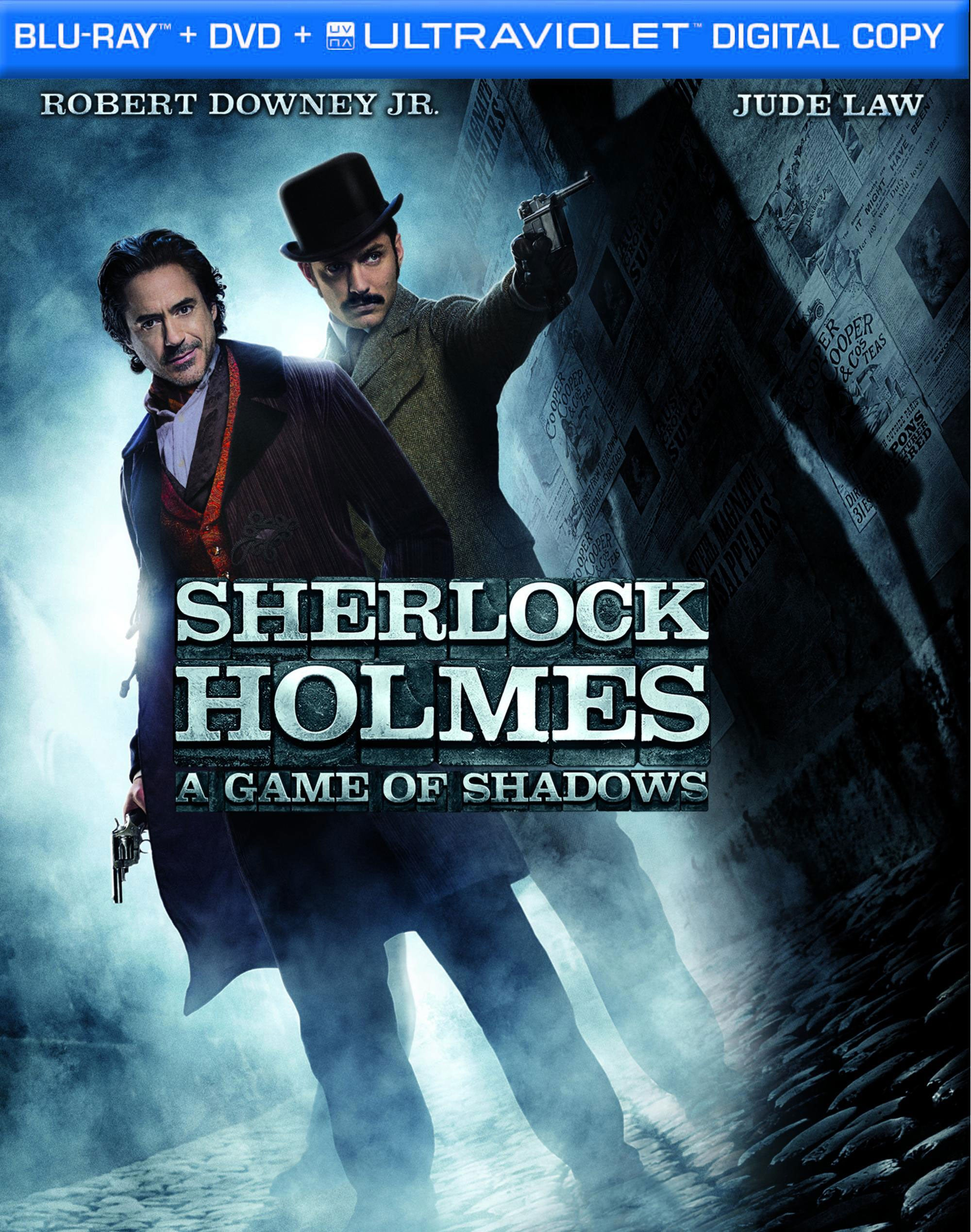 Sherlock Holmes: A Game of Shadows (Blu-ray/DVD)