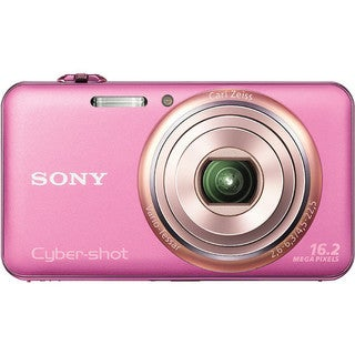 Sony Cyber-shot DSC-WX70 16.2MP 3D Pink Digital Camera