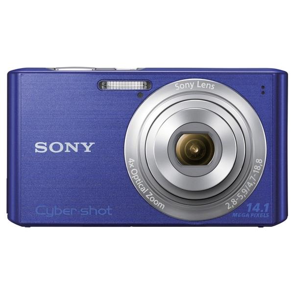 Sony Cyber-shot DSC-W610 14.1 Megapixel Compact Camera - Blue