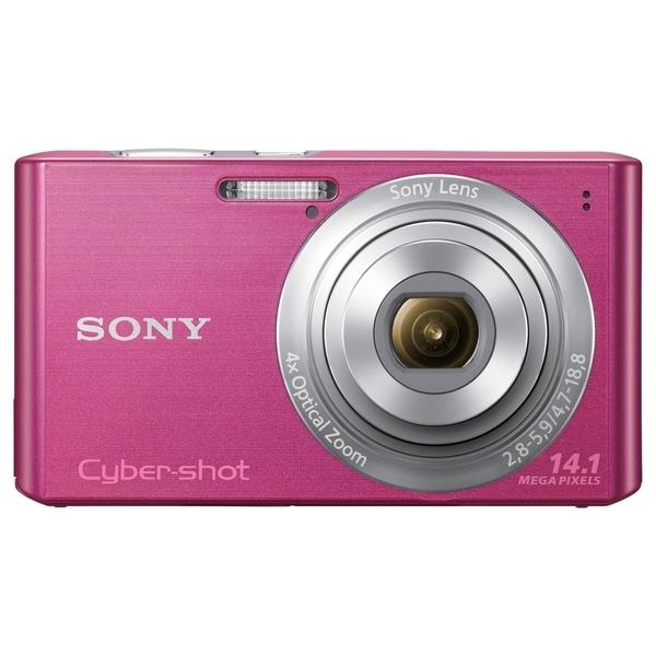 Sony Cyber-shot DSC-W610 14.1 Megapixel Compact Camera - Pink