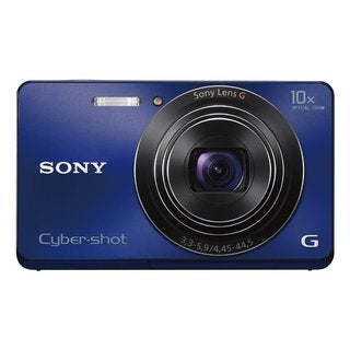 Sony Cyber Shot DSC-W690 16.1MP Blue Digital Camera