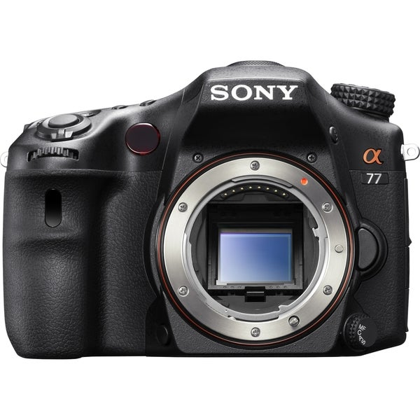 Sony alpha SLT-A77 24.3 Megapixel 3D Digital SLT Camera Body Only (Bo
