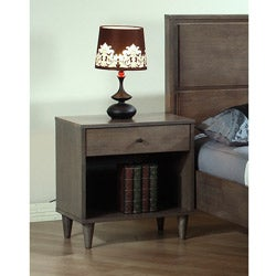 Vilas Light Charcoal Nightstand