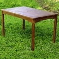 International Caravan Outdoor Acacia Rectangular Dining Table