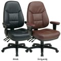 Office Star Products Executive Ergonomic Eco Leather Chair