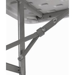 NPS Seminar Style Steel Frame Lightweight Plastic Folding Table