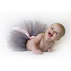 Gray and Pink Tutu