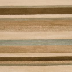 Woven Tan Hodden Rug (7'9 x 11'2)