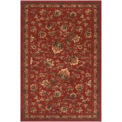 Woven Red Anacra Rug (7'9 x 10'6)
