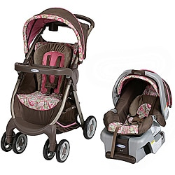 Graco FastAction Fold Travel System in Jacqueline with $25 Rebate