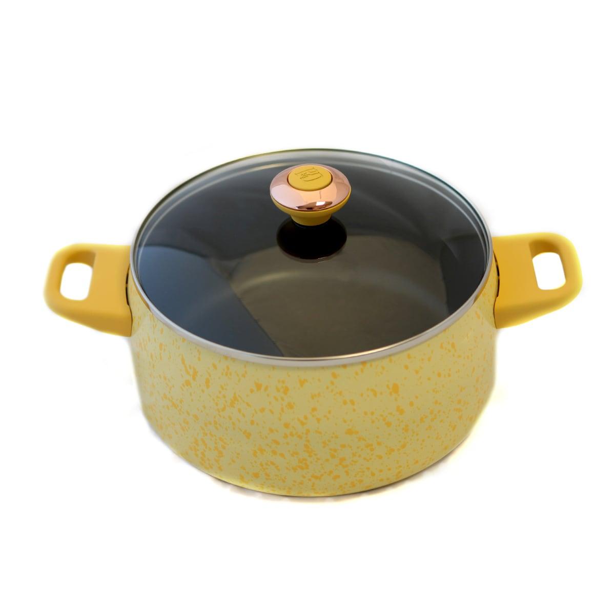 Paula Deen Signature Porcelain 'Butter' 6-quart Stockpot