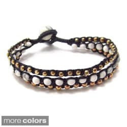 Beads Chic Medley Three Strand Bracelet (Thailand)