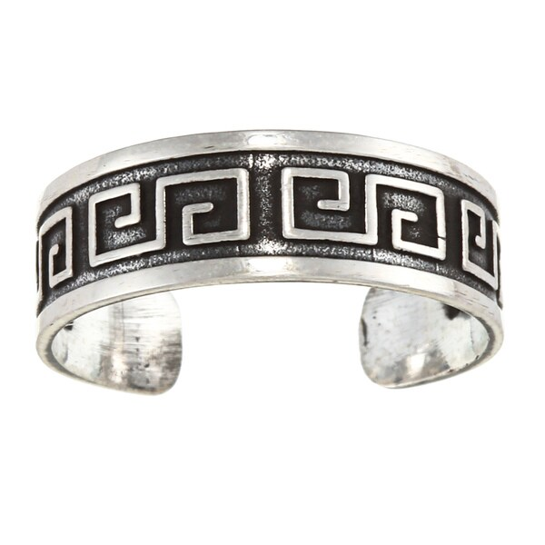 Sterling Silver Celtic Art Toe Ring