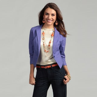 Jessica Simpson Junior's One-button Pocket Blazer