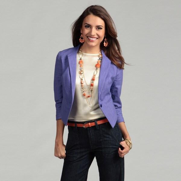 Jessica Simpson Junior's One-button Pocket Blazer