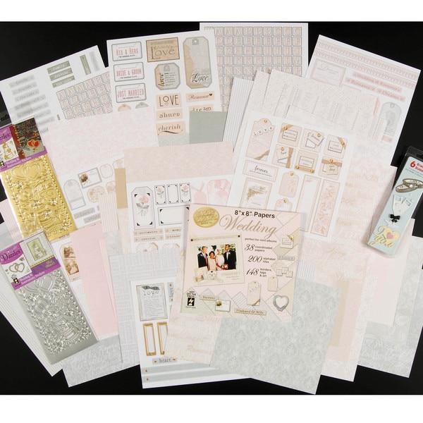Wedding Collection Scrapbooking Set