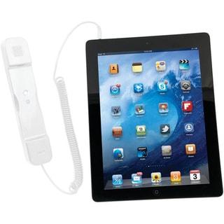 CTA Digital Radiation Safe Telephone Handset for iPad & iPhone (WHITE