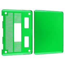 INSTEN Clear Green Snap-on Laptop Case Cover for Apple MacBook Pro 13-inch