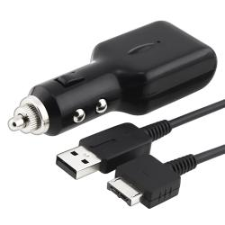 Car Charger with USB Cable for Sony PlayStation Vita