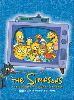 The Simpsons: The Complete Fourth Season (DVD)